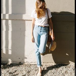 Madewell Perfect Summer Jeans mom vintage
